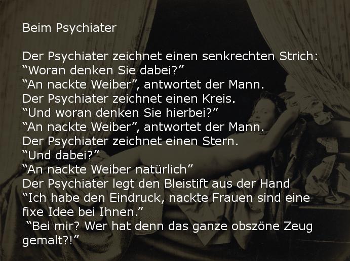 beim psychiater - witz